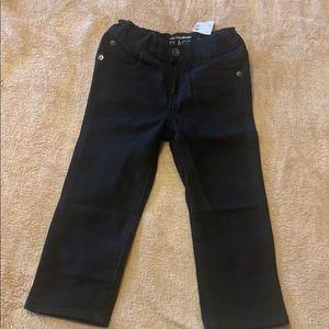 Size 2T skinny black skinny jeans New